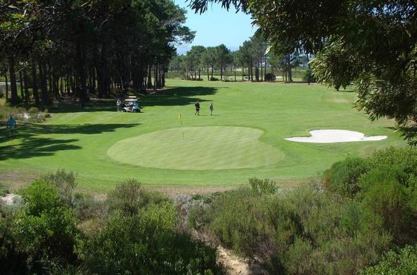 Play a round of golf at the Hermanus Golf Club.