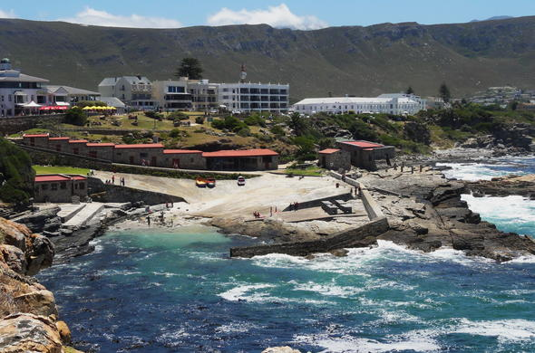 Hermanus is the best place to spot whales in South Africa.
